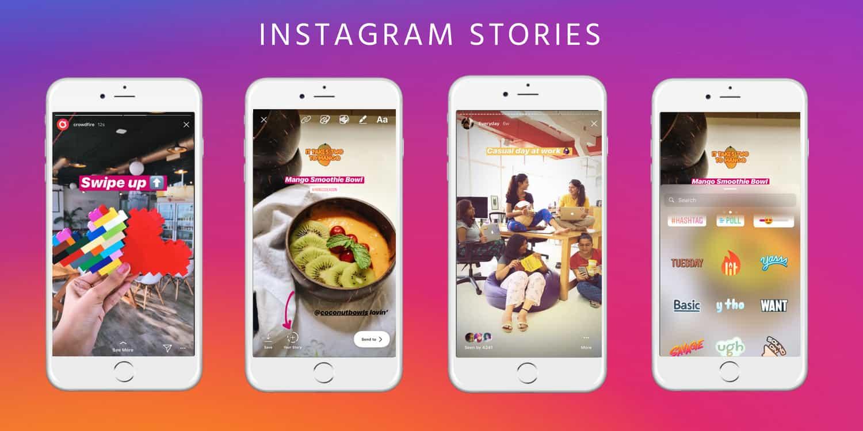 instagram istorijos