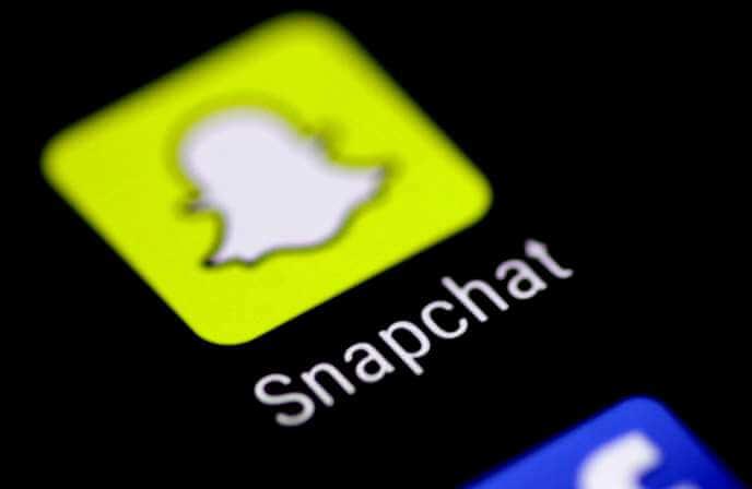 Snapchat programėlės vartotojai